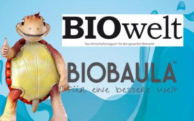 BIOwelt über den European Green Award
